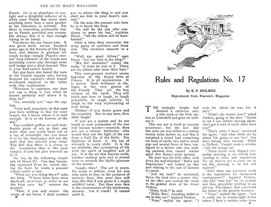 Article Preview: Rules and Regulations No. 17, February 1909 | Maclean's