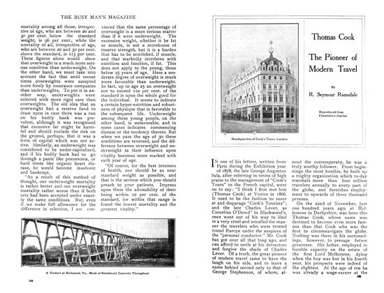 Article Preview: Thomas Cook The Pioneer of Modern Travel, February 1909 | Maclean's