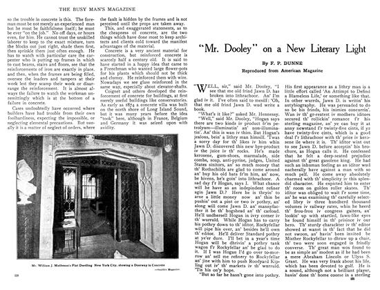 """Article Preview: """"Mr. Dooley"""" on a New Literary Light, February 1909 