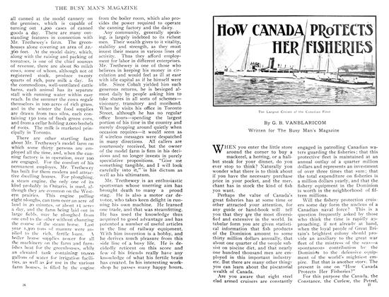 Article Preview: HOW CANADA PROTECTS HER FISHERIES, February 1909 | Maclean's