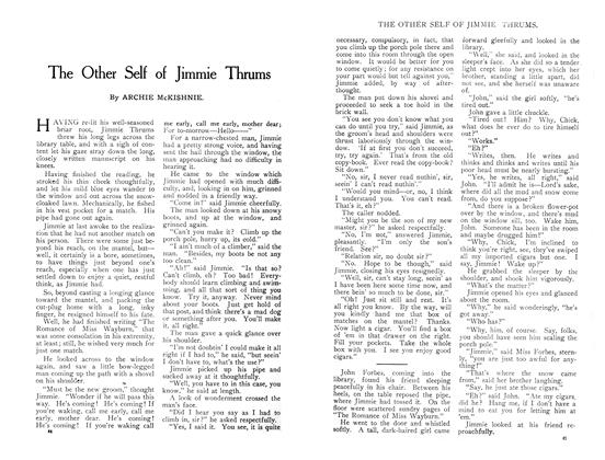 Article Preview: The Other Self of Jimmie Thrums, April 1909 | Maclean's