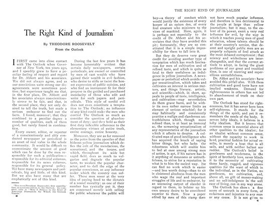 Article Preview: The Right Kind of Journalism, April 1909 | Maclean's