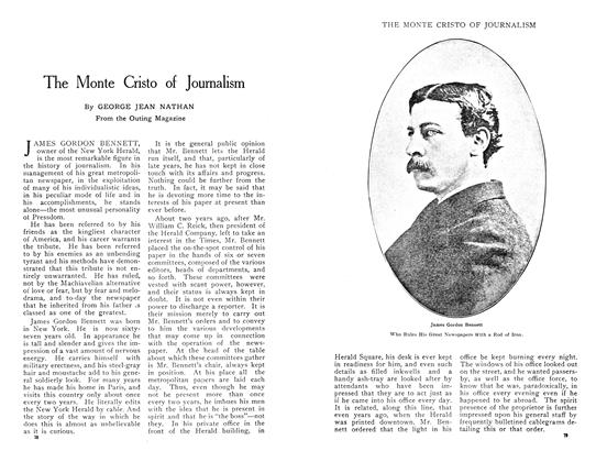Article Preview: The Monte Cristo of Journalism, April 1909 | Maclean's