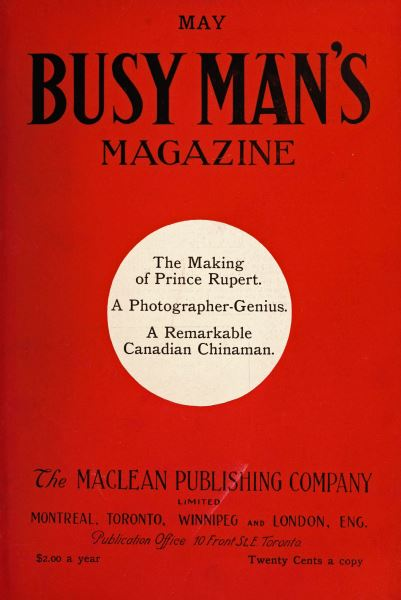 Issue: - May 1909 | Maclean's