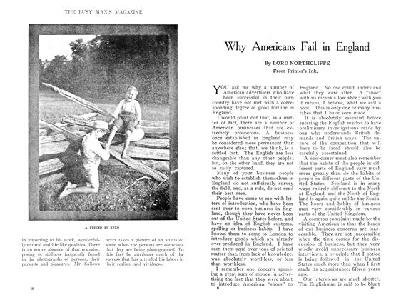 Article Preview: Why Americans Fail in England, May 1909 | Maclean's