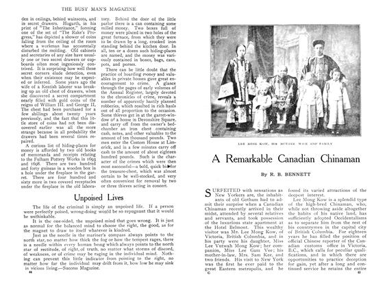 Article Preview: Unpoised Lives, May 1909 | Maclean's