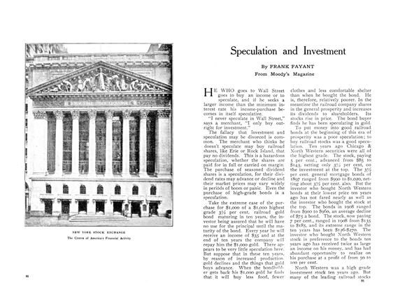Article Preview: Speculation and Investment, May 1909 | Maclean's