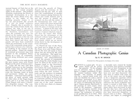 Article Preview: A Canadian Photographic Genius, May 1909 | Maclean's