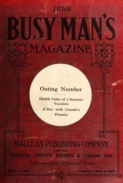 Issue: - June 1909 | Maclean's