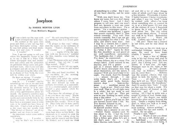Article Preview: Josephson, June 1909 | Maclean's
