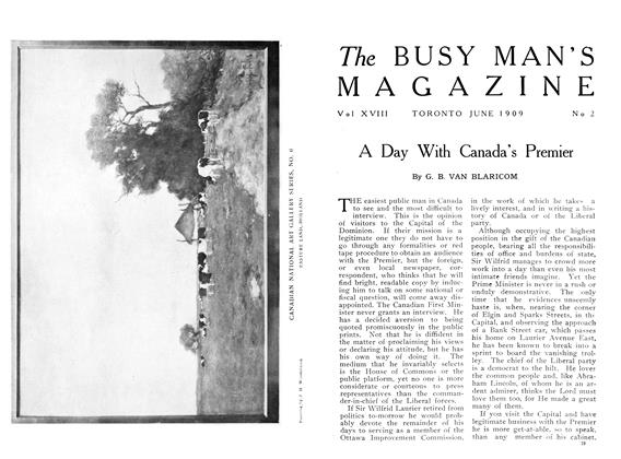 Article Preview: A Day With Canada's Premier, June 1909 | Maclean's