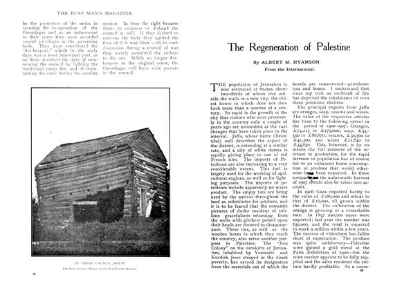 Article Preview: The Regeneration of Palestine, June 1909 | Maclean's