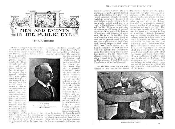 Article Preview: MEN AND EVENTS IN THE PUBLIC EYE, June 1909 | Maclean's