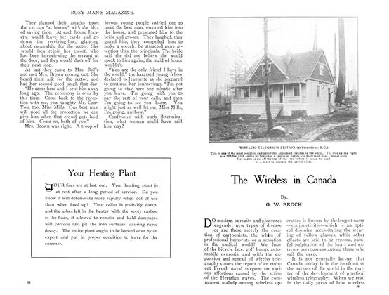Article Preview: The Wireless in Canada, July 1909   Maclean's