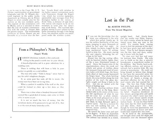 Article Preview: Lost in the Post, July 1909 | Maclean's