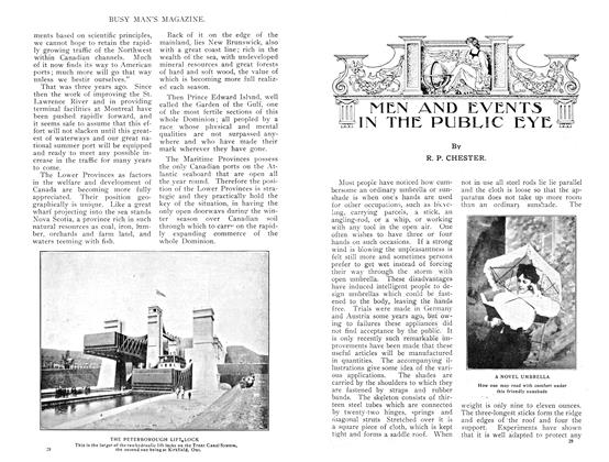 Article Preview: MEN AND EVENTS IN THE PUBLIC EYE, July 1909 | Maclean's