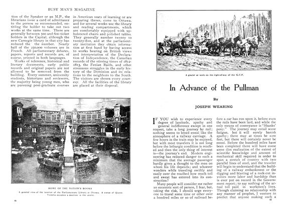 Article Preview: In Advance of the Pullman, August 1909 | Maclean's