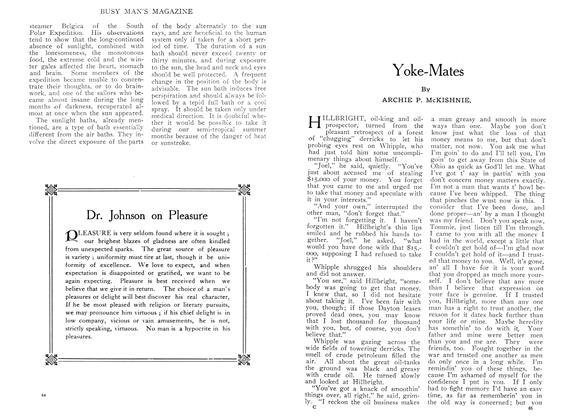 Article Preview: Yoke-Mates, August 1909 | Maclean's