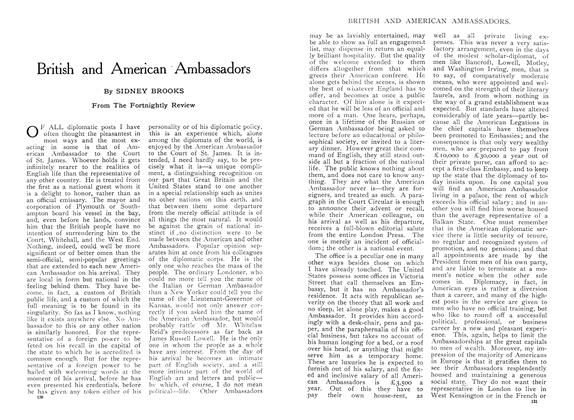 Article Preview: British and American Ambassadors, August 1909 | Maclean's