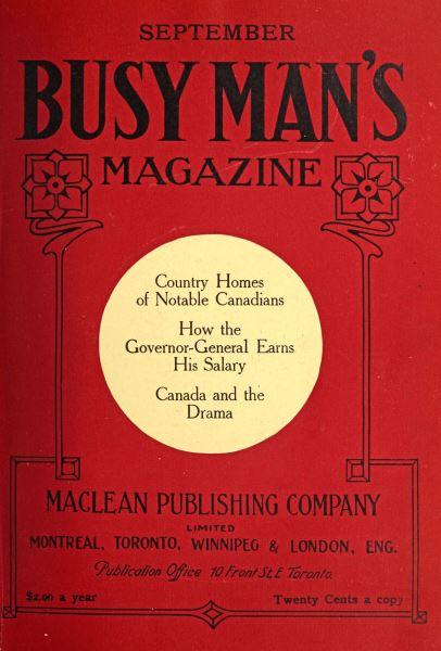 Issue: - September 1909 | Maclean's