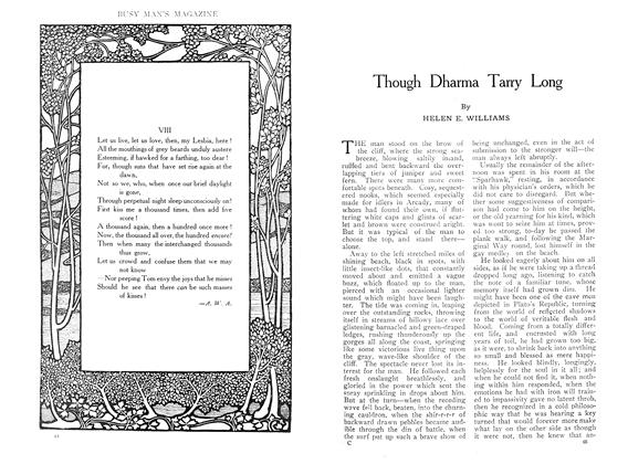 Article Preview: Though Dharma Tarry Long, September 1909 | Maclean's