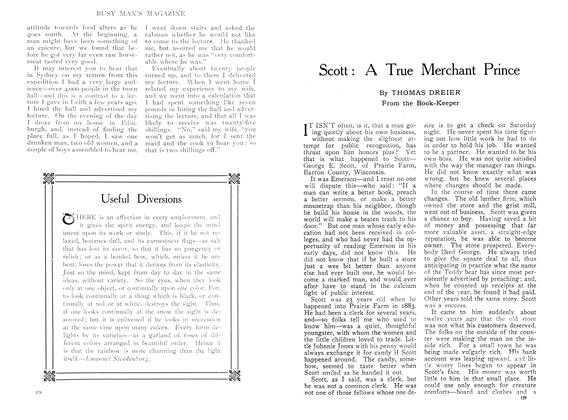 Article Preview: Scott: A True Merchant Prince, September 1909 | Maclean's