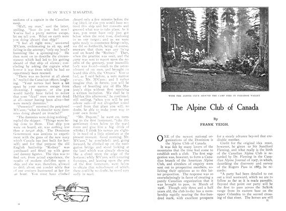 Article Preview: The Alpine Club of Canada, October 1909 | Maclean's
