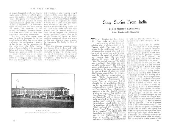 Article Preview: Stray Stories From India, October 1909 | Maclean's