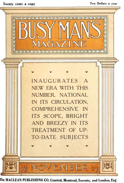 Issue: - November 1909 | Maclean's