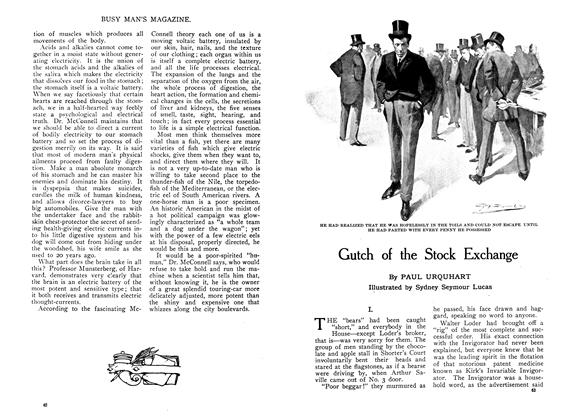Article Preview: Gutch of the Stock Exchange, November 1909 | Maclean's