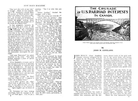 Article Preview: THE CRUSADE OF U. S. RAILROAD INTERESTS IN CANADA, December 1909 | Maclean's