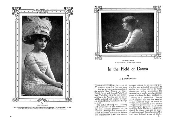 Article Preview: In the Field of Drama, January 1910 | Maclean's