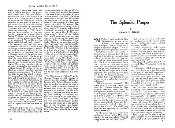 Article Preview: The Splendid Pauper, January 1910 | Maclean's