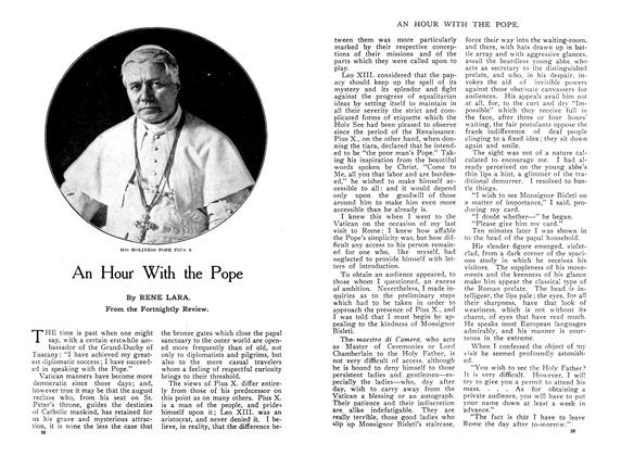 Article Preview: An Hour With the Pope, January 1910 | Maclean's
