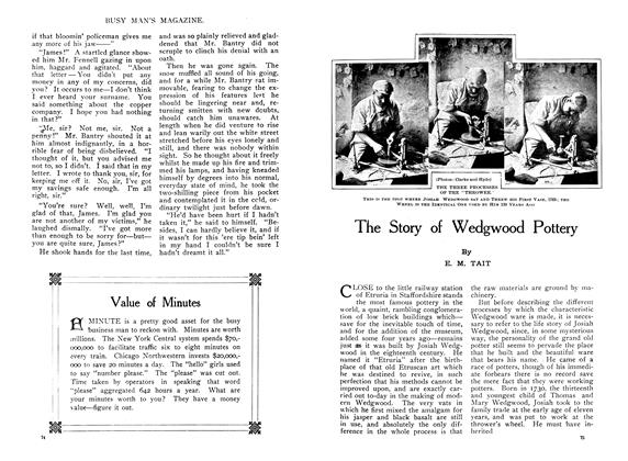 Article Preview: The Story of Wedgwood Pottery, January 1910 | Maclean's