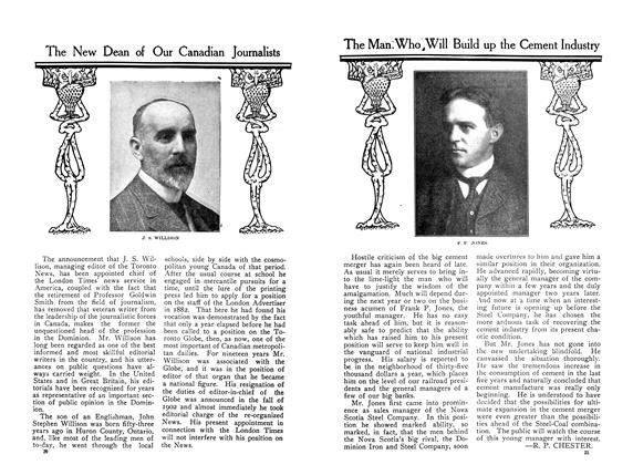 Article Preview: The Man Who Will Build up the Cement Industry, January 1910 | Maclean's
