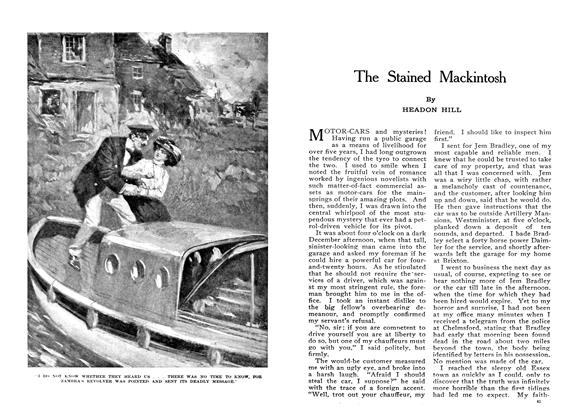 Article Preview: The Stained Mackintosh, February 1910 | Maclean's