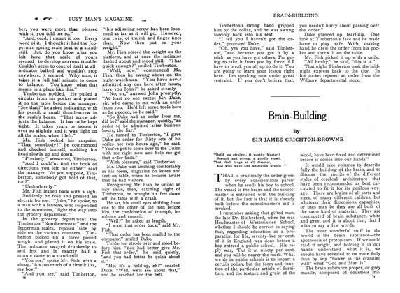 Article Preview: Brain-Building, February 1910 | Maclean's