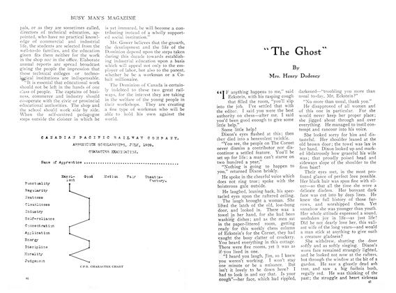 """Article Preview: """"The Ghost"""", March 1910 