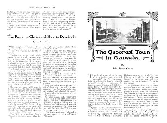 Article Preview: The Queerest Tewn In Canada., March 1910 | Maclean's