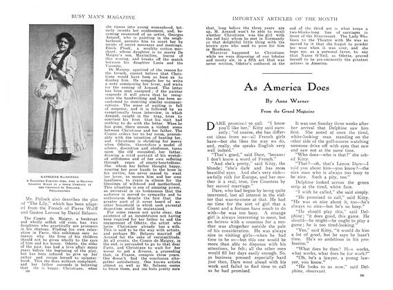 Article Preview: As America Does, March 1910 | Maclean's