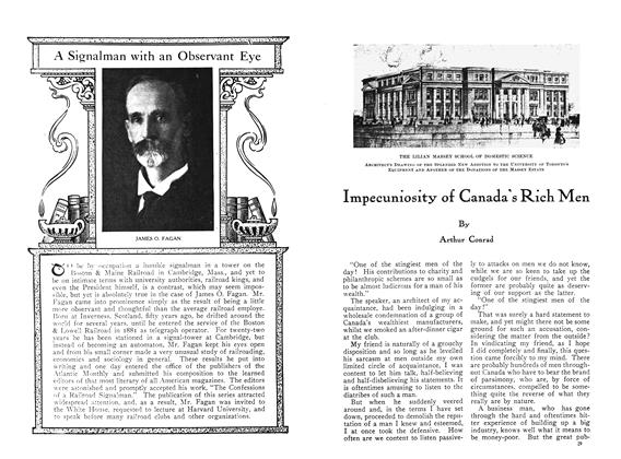 Article Preview: Impecuniosity of Canada's Rich Men, April 1910 | Maclean's