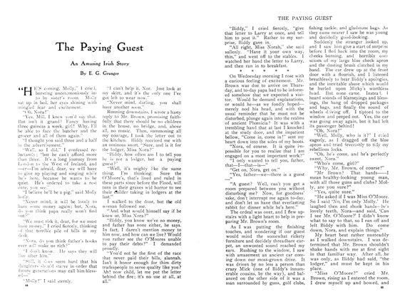 Article Preview: The Paying Guest, April 1910 | Maclean's