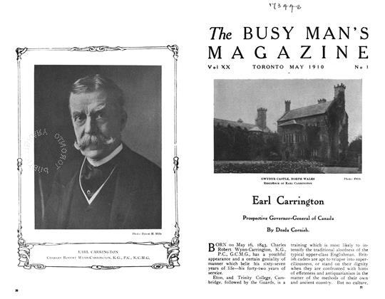 Article Preview: Earl Carrington, May 1910 | Maclean's