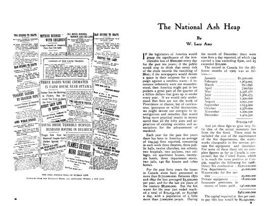 Article Preview: The National Ash Heap, May 1910 | Maclean's