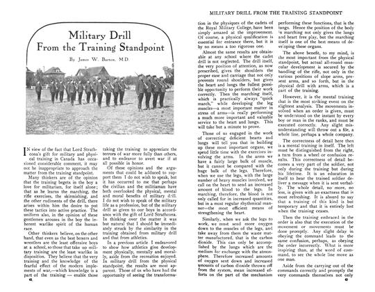 Article Preview: Military Drill From the Training Standpoint, June 1910 | Maclean's