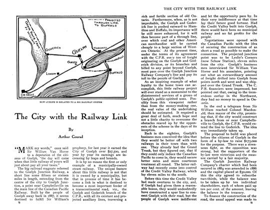 Article Preview: The City with the Railway Link, June 1910 | Maclean's