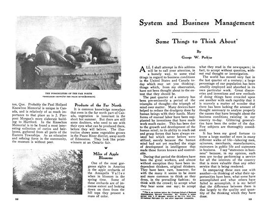 Article Preview: Some Things to Think About, June 1910 | Maclean's