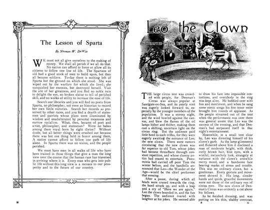 Article Preview: Leo, the Clown, June 1910 | Maclean's