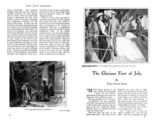 Article Preview: The Glorious First of July, July 1910 | Maclean's